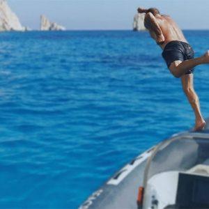 Superman Diving